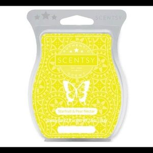 Star fruit and pear nectar Scentsy wax